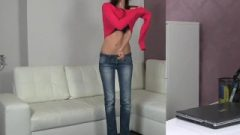 FakeAgent Super Thin Amateur Banged Rough In Casting