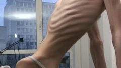 Anorexic Janine – Showing Off Stunning Slender Incredible Body