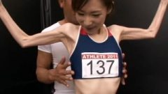 22-Year-Old Beauty Athlete Muscle