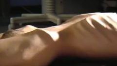 Anorexic Julia_ribs & Stomach Tease