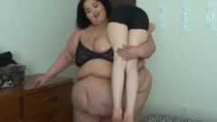Ssbbw Belly Play With Friend