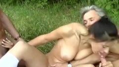 Nice Nubile Picked Up For Outdoor Orgy