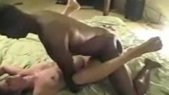 Swinger Wife Gets Banged By Chocolate Bull
