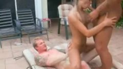 Tight Tyler Stevenz Gets Boned By Two Penis