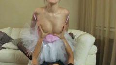 Strapon Jizz – Ballerina Strapon Ruined