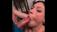 Caught My Step Sister On Webcam!!! She Gives Me Blow-Job To Keep Her Secret